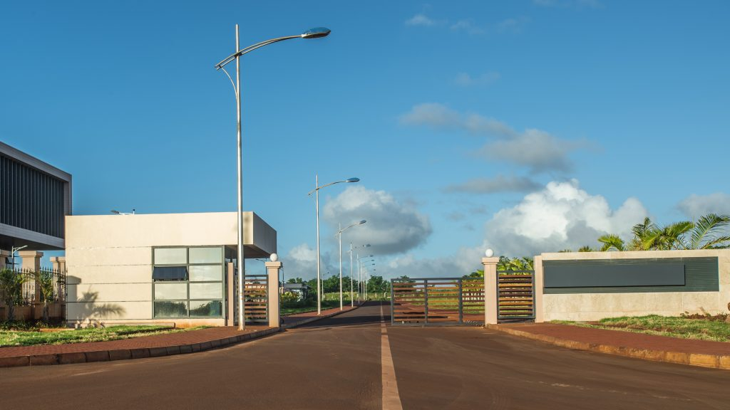 Gate The American Campus at Jin Fei University in Mauritius