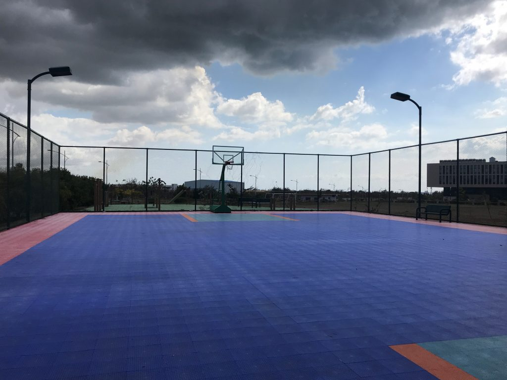 Basketball Court The American Campus at Jin Fei University in Mauritius