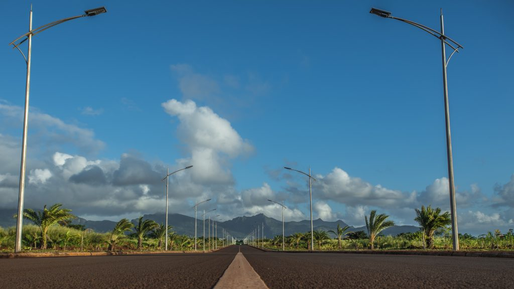 Road The American Campus at Jin Fei University in Mauritius